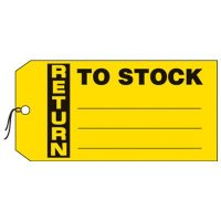 Return To Stock Production Status Tags