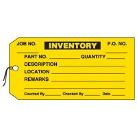 Inventory Production Status Tags