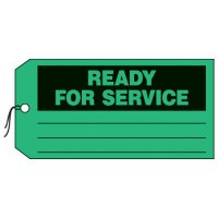 Ready For Service Production Status Tags