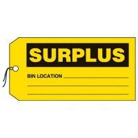 Surplus Production Status Tags