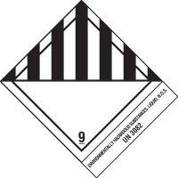 Enviormentally Hazardous Substances Shipping Label