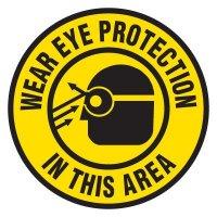 PPE Protective Wear Anti-Slip Floor Label