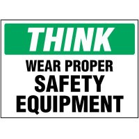 Think- Wear Safety Equipment Labels