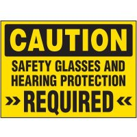 Caution Safety Protection Required Labels