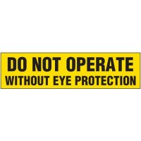 Do Not Operate Labels
