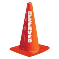 Reflective Reserved Traffic Cones