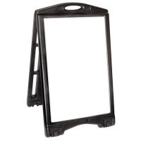 A-Plus Rolling Sandwich Board Sign - Frame Only