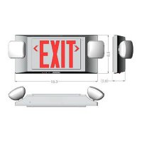 Glo Brite Photoluminescent Indoor/Outdoor Exit Sign