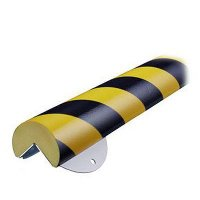 "Round Corner Wall Protection Kit - 2-3/8""W x 1-4/5'L"