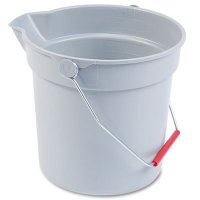 Rubbermaid Brute® Utility Pail Newell Rubbermaid RCP296300GY