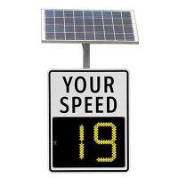 SafePace® 100 Radar Feedback Sign