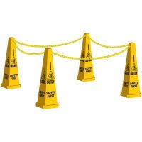 Caution Safety First Safety Cone Kit