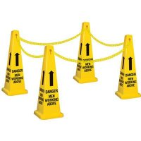 Men Working Above Safety Cone Kit