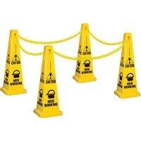 Men Working Safety Cone Kit
