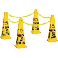 Restricted Area Safety Cone Kit