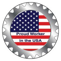 Safety Hard Hat Labels - Proud Worker In The USA