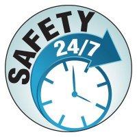 Safety Hard Hat Labels - Safety 24/7
