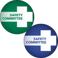 Safety Hard Hat Labels - Safety Committee
