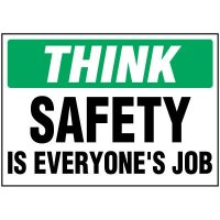 Safety Is Everyone's Job Label