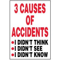 Causes Of Accidents Label