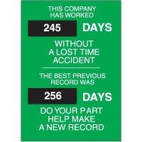 Safety Scoreboards - BRADY 43322