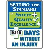 Setting The Standard Without Injury Scoreboard
