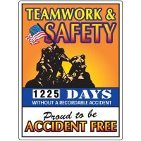 Teamwork & Safety Scoreboard
