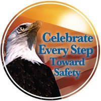 Safety Slogan Floor Markers - Celebrate Every Step Toward Safety