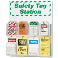 Accident Prevention Safety Tag Station