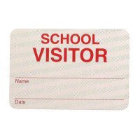 School Visitor - TempBadge Self-Expiring Badge