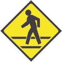 See-Thru Pedestrian Walkway Labels