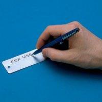 Blank Self-Debossing Foil Tags