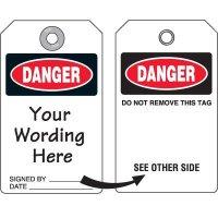 Custom Danger Duro-Tag
