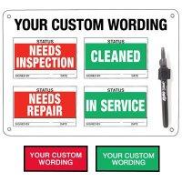 Semi-Custom Economy Status Boards