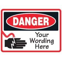 Semi-Custom OSHA Electrical Safety Signs