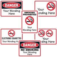 Semi-Custom No Smoking Signs