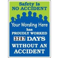 Custom No Accident Scoreboard