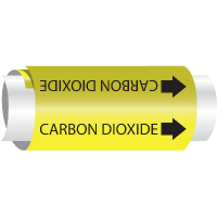 Carbon Dioxide - Setmark® Snap-Around Pipe Markers