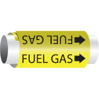 Fuel Gas - Setmark® Snap-Around Pipe Markers