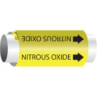 Nitrous Oxide - Setmark® Snap-Around Pipe Markers