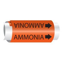 Ammonia - Setmark® Snap-Around Pipe Markers