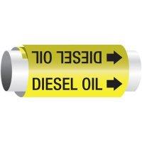 Diesel Oil - Setmark® Snap-Around Pipe Markers