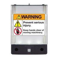 Seton Safety Sign Alerter Kit - Warning Keep Hands Clear