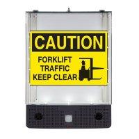 Seton Safety Sign Alerter Kit - Forklift Traffic Keep Clear