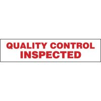 Quality Control Inspected Shipping Tape Nadco SPECIAL SPT7