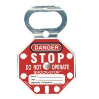 Brady 87693 SHOCK-STOP® Lockout Hasps - Pack of 5