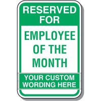 Employee of the Month Parking Sign Kit