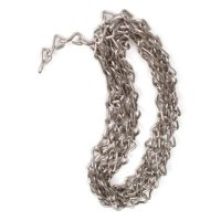 Stainless Steel Jack Chain and S-Hooks