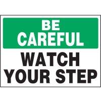 Watch Your Step Vinyl Label