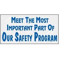 Safety Program Mirror Label